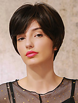 cheap -Synthetic Wig Ombre Straight Natural Straight Pixie Cut Short Bob Side Part Wig Short Dark Brown Brown Blonde Black / Blonde Black / Brown Synthetic Hair 10 inch Women's Cosplay Ombre Hair African