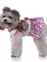 cheap -Dog Halloween Costumes Costume Dress Princess Party Cute Christmas Party Dog Clothes Breathable Pink Costume Polyester S M L XL