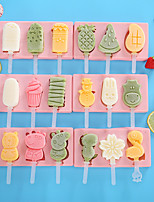 cheap -Ice Tools Full Body Silicone Cartoon Party Evening Drinkware Children'S Homemade Ice Cream Box Diy Ice Cream Mold