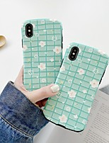 cheap -Case For Apple iPhone 6 6s 6p 6sp iPhone 7 7P 8 8P iPhone X iPhone XS iPhone XR iPhone XS max iPhone 11 11 Pro 11 Pro Max Pattern Back Cover Flower TPU