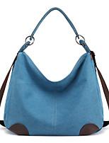 cheap -Women's Bags Canvas Top Handle Bag / Hobo Bag Zipper for Daily / Date Black / Fuchsia / Sky Blue / Gray