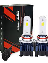 cheap -Smallest Size Adjustable Led Car Light H7 Automotive Lamp  2600lm H11 H4  Led H7 Led Headlight  25W