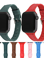 cheap -Watch Band for Apple Watch Series 6 SE 5 4 3 2 1  Apple Sport Band Quilted PU Leather / Silicone Wrist Strap