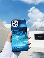 cheap -Case For APPLE  iPhone 7 8 7plus 8plus  XR XS XSMAX  X SE  11  11Pro   11ProMax Pattern Back Cover Scenery PC