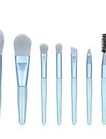 cheap -Professional Makeup Brushes 8pcs Professional Soft Full Coverage Comfy Wooden / Bamboo for Eyeliner Brush Makeup Brush Eyeshadow Brush