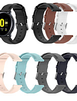 cheap -Watch Band for Galaxy Watch 3 45mm Samsung Galaxy Classic Buckle / Business Band Genuine Leather Wrist Strap