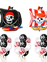cheap -Party Balloons 29 pcs Pirates Party Supplies Latex Balloons Boys and Girls Party Decoration 12inch for Party Favors Supplies or Home Decoration