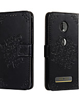 cheap -Case For Motorola Moto G7 G7 Plus G7 Play G7 Power E5 G6 Play Z4 Play Card Holder Flip Magnetic Full Body Cases Solid Colored PU Leather TPU