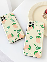 cheap -Case For Apple iPhone 7 7Plus iPhone 8 8Plus iPhone X iPhone XS XR XS max iPhone 11 11 Pro 11 Pro Max Pattern Back Cover Food TPU