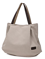 cheap -Women's Bags Canvas Top Handle Bag / Hobo Bag Zipper for Daily / Date Black / Sky Blue / Gray / Coffee
