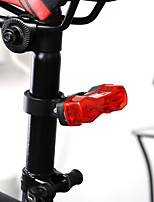 cheap -LED Bike Light Clips and Mounts Bike Glow Lights Rear Bike Tail Light Bicycle Cycling Waterproof LED Lightweight CR2032 6 lm Button Red Everyday Use Cycling / Bike