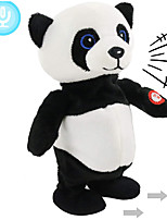 cheap -Electric Toys Stuffed Animal Plush Toy Panda Gift Singing Dancing Repeats What You Say Interactive PP Plush Imaginative Play, Stocking, Great Birthday Gifts Party Favor Supplies Boys and Girls Kid's