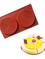 cheap -Mosquito Circles-shaped Mousse Cake Mold Fondant Chocolate Mold 1Pc