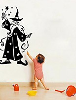 cheap -Halloween Magician Wall Stickers Decorative Wall Stickers, PVC Home Decoration Wall Decal Wall Decoration / Removable