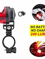 cheap -self powered bicycle tail light no battery no charge super bright bike taillight magnetic induction magnet power self-generation back rear red led cycle batteryless flashlight