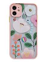 cheap -Case For iPhone 7 8 7 Plus 8 Plus X XS XR XS Max SE 11 11 Pro 11 Pro Max Pattern Back Cover Cartoon Tree Flower TPU