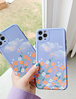 cheap -Case For Apple iPhone 7 7Plus iPhone 8 8Plus iPhone X iPhone XS XR XS max SE 2020 iPhone 11 11 Pro 11 Pro Max SE Pattern Back Cover Scenery TPU