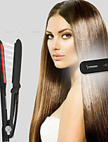cheap -The New Classic Infrared Flat Iron Hair Straightener  Ceramic Titanium Floating Plates with Comfort Handle Dual Voltage Heat Up To 450
