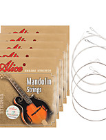 cheap -NAOMI Alice Mandolin Strings AM03 Plated Steel Silver-Plated Copper Alloy Wound Strings Guitar Accessories
