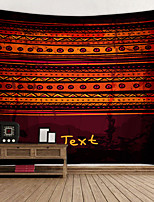 cheap -Tribal Cultural Background Digital Printed Tapestry Decor Wall Art Tablecloths Bedspread Picnic Blanket Beach Throw Tapestries Colorful Bedroom Hall Dorm Living Room Hanging