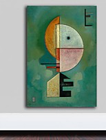 cheap -100% Hand painted Famous Kandinsky Abstract Canvas Painting Art Wall Pictures For Living Room Home Decor Nordic Style Rolled Without Frame