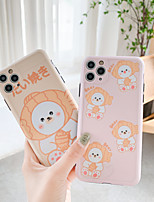 cheap -Case For iPhone 7 8 7plus 8plus X XR XS XSMax SE(2020) iPhone 11 11Pro 11ProMax Shockproof Pattern Back Cover Word Phrase Heart Animal TPU