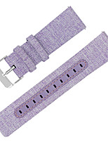cheap -Watch Band for Fitbit Versa Fitbit Leather Loop Genuine Leather / Canvas Wrist Strap