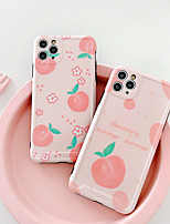 cheap -Case For Apple iPhone 7 7Plus iPhone 8 8Plus iPhone X iPhone XS XR XS max iPhone 11 11 Pro 11 Pro Max SE Pattern Back Cover Food TPU