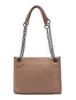 cheap -Women's Bags PU Leather Top Handle Bag Zipper for Daily / Date Black / Red / Khaki / Green
