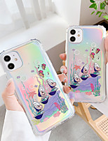 cheap -Case For Apple iPhone 11 / iPhone 11 Pro / iPhone 11 Pro Max Shockproof / Pattern Back Cover Animal / Cartoon TPU