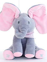 cheap -Electric Toys Stuffed Animal Plush Toy Elephant Gift Singing Interactive Flapping Ears PP Plush Imaginative Play, Stocking, Great Birthday Gifts Party Favor Supplies Boys and Girls Kid's Adults