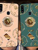 cheap -Case For Samsung Galaxy Samsung Galaxy A20S A30 A20 A50 A50S A30S A51 A70 A71 S20 S20 S20U Shockproof  Ring Holder Pattern Back Cover Geometric Pattern TPU