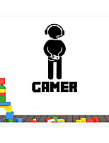 cheap -CAMER Game Wall Stickers Decorative Wall Stickers, PVC Home Decoration Wall Decal Wall Decoration / Removable
