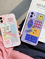 cheap -Case For Apple iPhone 7 plus 8 plus XR XS XS MAX X SE 11 11Pro 11ProMax Pattern Back Cover TPU Animal  Word Phrase