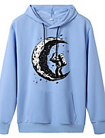cheap -Women's Hoodie Artistic Style Hoodie Cartoon Sport Athleisure Pullover Long Sleeve Warm Soft Oversized Comfortable Everyday Use Exercising General Use