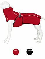 cheap -u only you dog coats technical jacket sport parka outdoor coat,waterproof windproof fleece lined dog coat outdoor clothing with reflective stripes,stylish sport coat for large dogs (x-large, red)