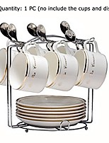 cheap -6 hooks mugs tree cup rack dishes organizer style b