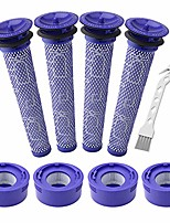 cheap -4 pack pre-filters and 4 pack hepa post-filter replacements compatible with dyson v7, v8 animal and v8 absolute cordless vacuum, compare to part 965661-01 and 967478-01