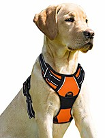 cheap -dog harness no-pull pet harness adjustable outdoor pet vest front clip heavy duty 3m reflective oxford material vest for dogs easy control for small medium large(orange,xl) dogs(orange,xl)