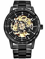 cheap -ik men watches, luxury skeleton watches for men, automatic mechanical wristwatch black mesh band litbwat