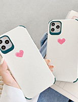 cheap -Case For Apple iPhone 7 7Plus iPhone 8 8Plus iPhone X iPhone XS XR XS max iPhone 11 11 Pro 11 Pro SE Max Pattern Back Cover Heart TPU
