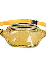 cheap -3 L Hiking Waist Bag Rain Waterproof Outdoor Camping Plastic & Metal White Black Yellow