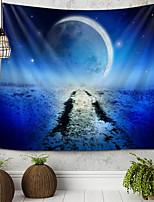 cheap -Moon Sky Tapestry Wall Hanging Tapestries Wall Blanket Wall Art Wall Decor Skull Tapestry Wall Decor
