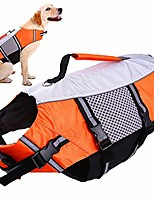 cheap -dog life jacket small,life vests medium for swimming, dogs pool float coat swimsuits flotation device life preserver belt lifesaver flotation suit for pet bulldog labrad