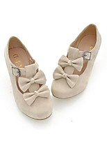 cheap -woman's low heel vintage lolita shoes cute bowknot mary jane shoes beige