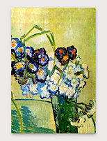 cheap -IARTS Hand Painted Botany Oil Painting with Stretched Frame For Home Decoration With Stretched Frame