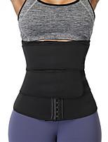cheap -Sweat Waist Trainer Corset Neoprene Waist Trainer Shaper Slimming Belt Sports Neoprene Home Workout Yoga Fitness Adjustable Tummy Control Weight Loss Tummy Fat Burner For Men Women