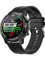 cheap -S30 Unisex Smartwatch Bluetooth Heart Rate Monitor Blood Pressure Measurement Sports Calories Burned Long Standby Stopwatch Pedometer Call Reminder Sleep Tracker Sedentary Reminder
