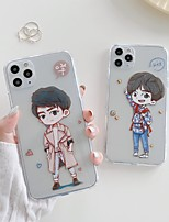 cheap -Case For Apple iPhone 7 7P iPhone 8 8P iPhone X iPhone XS XR XS max iPhone 11 11 Pro 11 Pro Max Pattern Back Cover Cartoon TPU