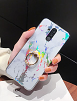 cheap -Case For Huawei Honor 7C Y7 2018 Y7 Prime 2018 Y5 2018 Mate 20 Lite Mate 20 Pro Ring Holder Pattern Back Cover Marble TPU